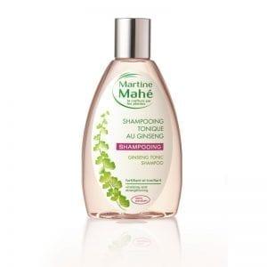 Shampooing Martine Mahé fortifiant et tonifiant aux plantes