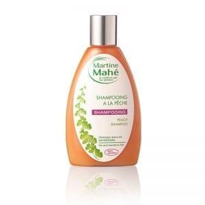Shampoing à la pêche doux et onctueux. Laisse les cheveux nourrit en profondeur et soyeux. Martine Mahé