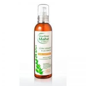 Soin lissant à la maca, hydrate le cheveu en profondeur et gaine la chevelure Martine Mahé