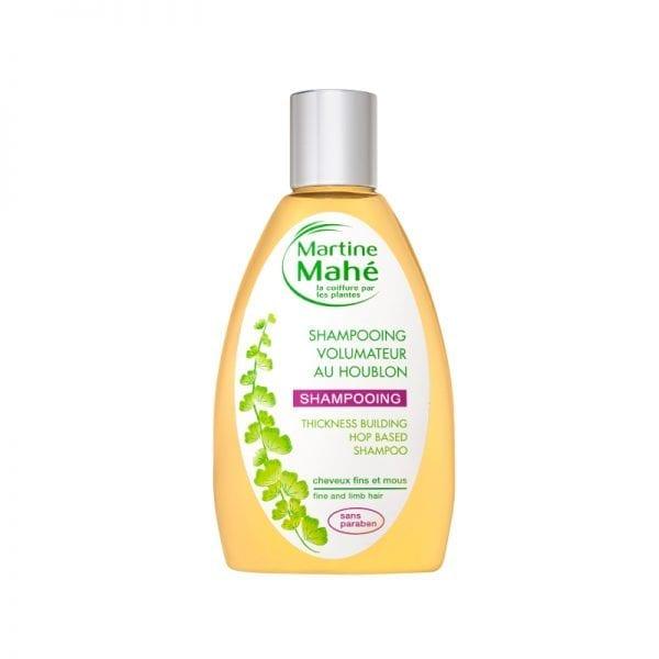 Shampoing volumateur au houblon, donne tonus et vitalité aux cheveux gamme Martine Mahé