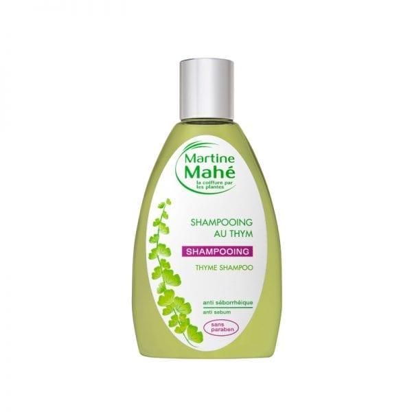 Shampoing au thym de Martine Mahé pour purifier