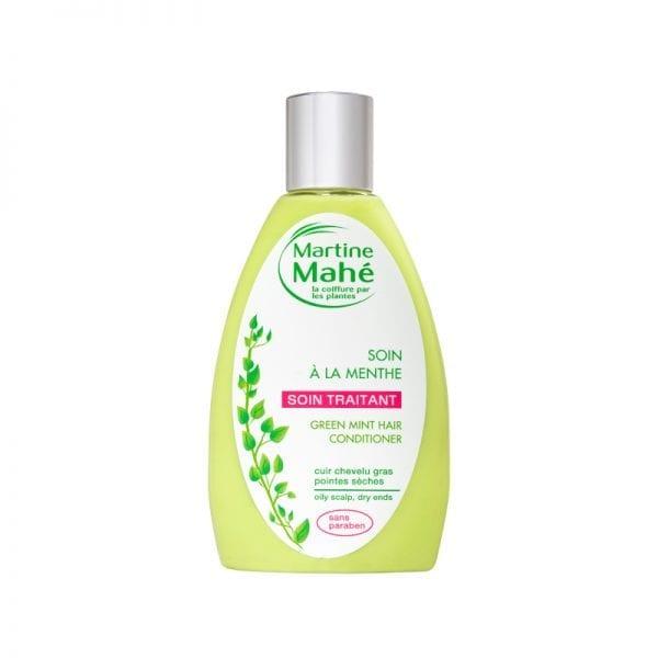 Soin à la menthe de Martine Mahé, après-shampoing soin